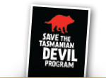 Save the tasmanian devil program